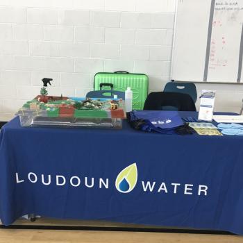 Loudoun Water table at an event